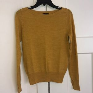 The Limited Mustard Yellow sweater